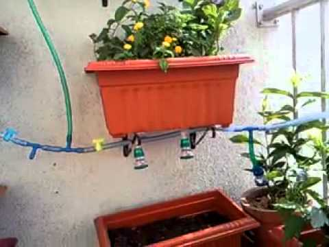 Vertical garden in balcony the space and layout youtube for Balcony vertical garden