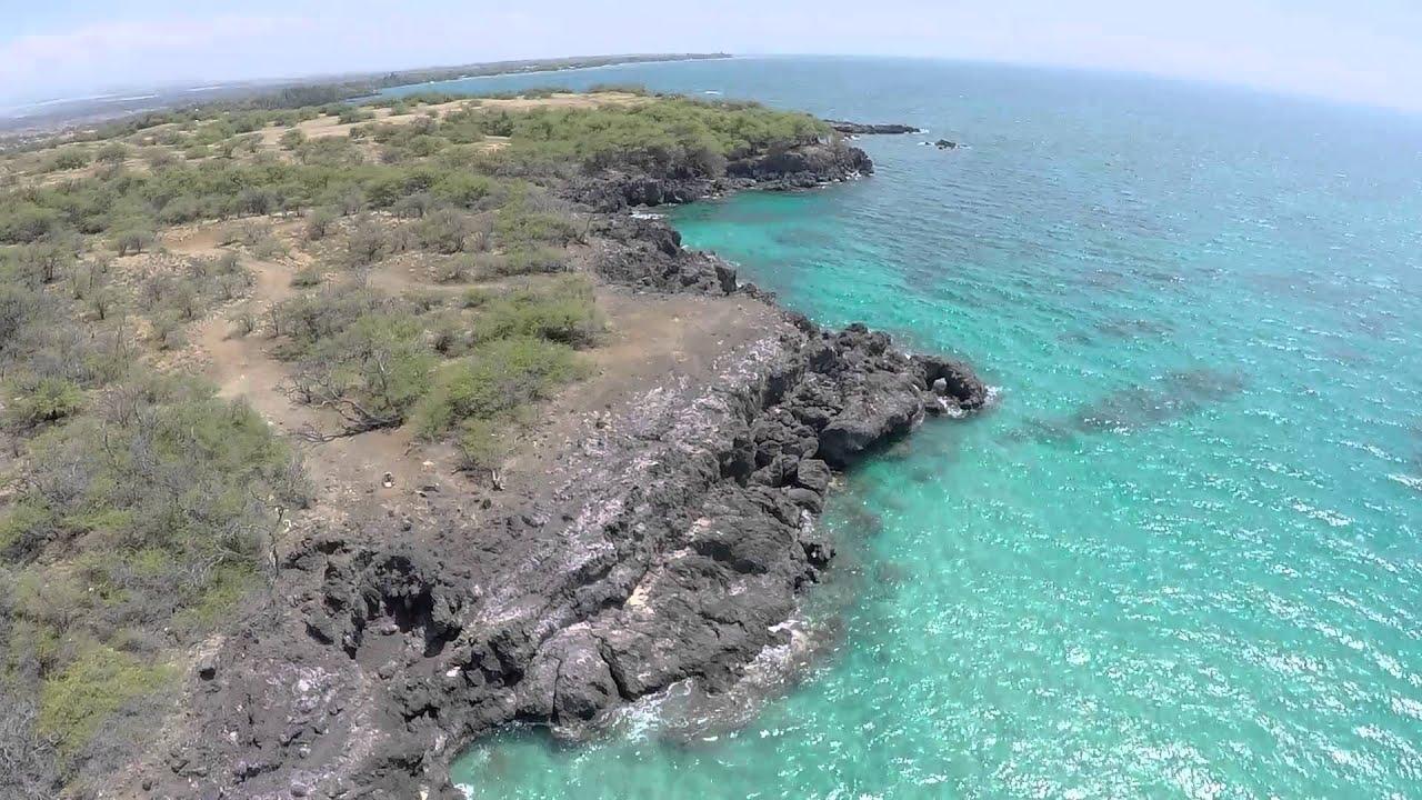 Flight Over Hapuna Beach Hawaii