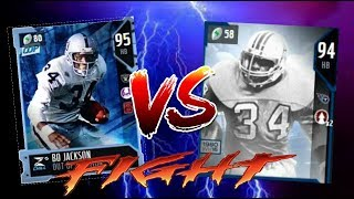 WHO'S THE BEST POWER RB?! BO JACKSON VS EARL CAMPBELL! MADDEN 18 GAMEPLAY MUT ULTIMATE TEAM