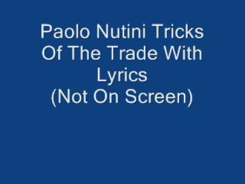 Paolo Nutini Tricks Of The Trade With Lyrics