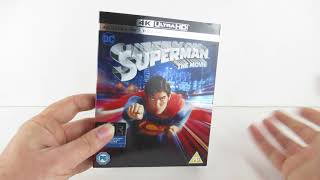 4k ultra HD superman the movie unboxing/review