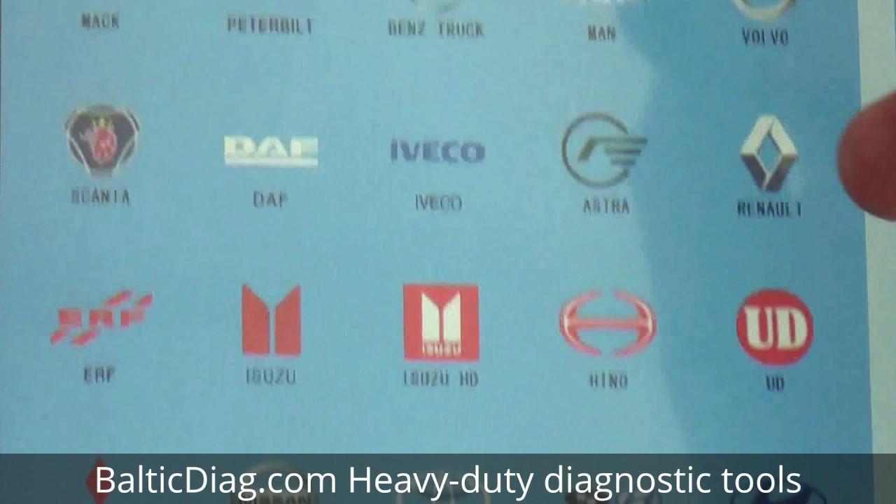 F-CAR F3-D Multi-Functional Truck Diagnostic tool