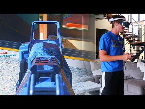 PLAYING INFINITE WARFARE ON PLAYSTATION VR!