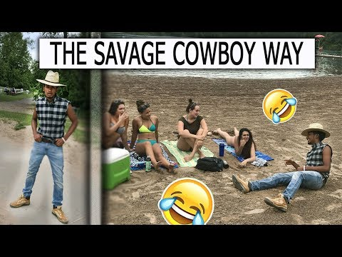 Picking Up GIRLS As A SAVAGE COWBOY (GONE SEXUAL)