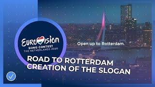 Road To Rotterdam: Creating The Slogan