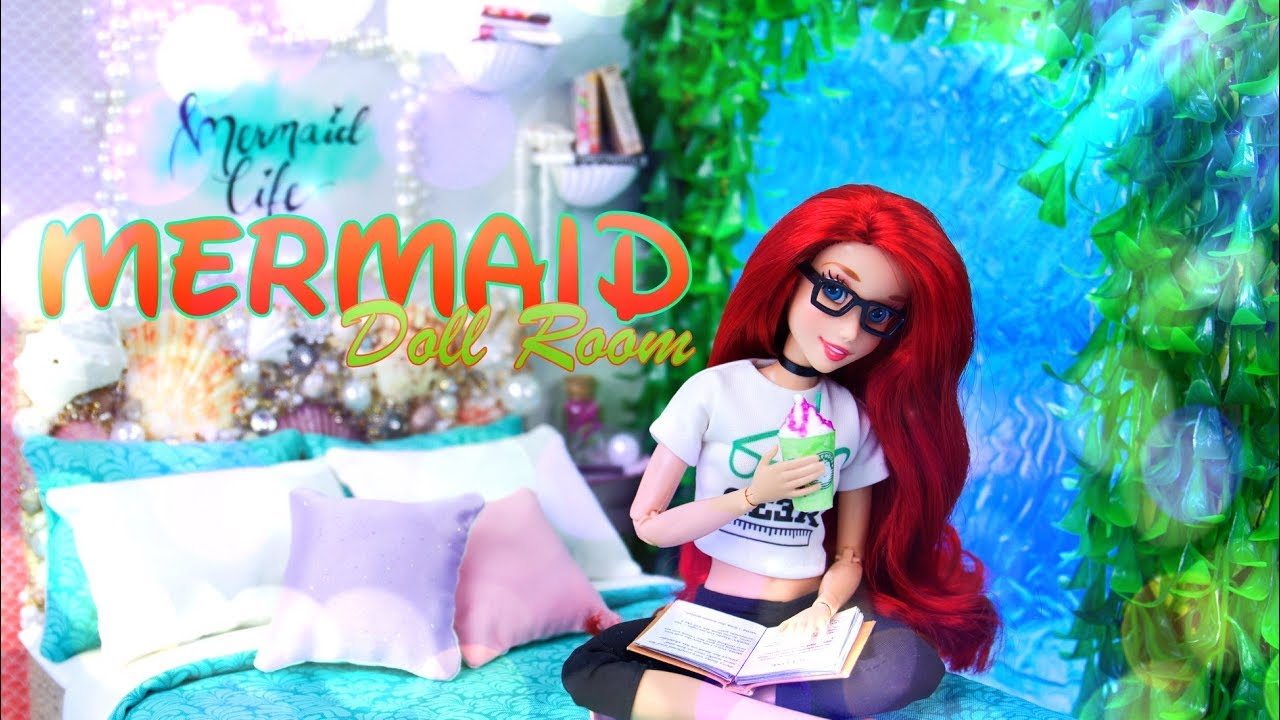 DIY - How to Make: Mermaid Doll Room | Happy MerMay Doll Crafts