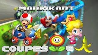 Mario Kart 8 - Nostalgie Quand Tu Nous Tiens ! (Coupe Fleur + Banane)