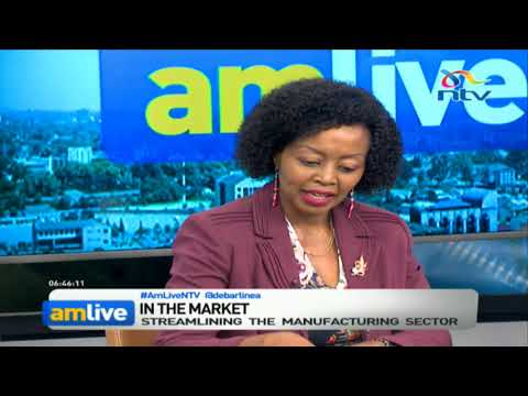 KAM chairlady says Kenya's manufacturing is actually on a negative trajectory