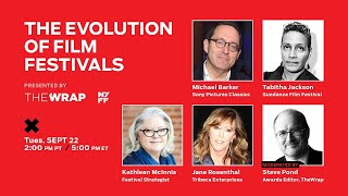 TheGrill  The Evolution of Film Festivals presented by TheWrap \u0026 New York Film Festival