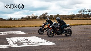 Kawasaki Zh2 vs KTM 1290 Super Duke R | KNOX