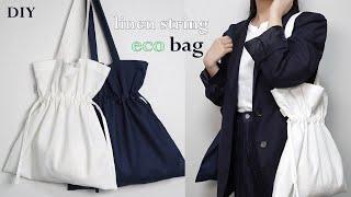 sub) DIY / Linen Eco-Bag, 린넨 에…