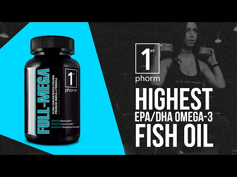 Full-Mega Review - Highest EPA / DHA Omega-3 Fish Oil Supplement