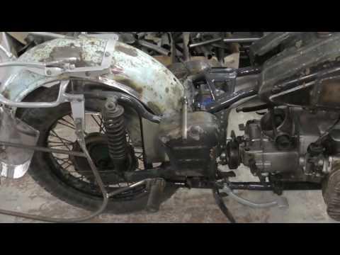 Тюнинг мотоцикла Урал М-63
