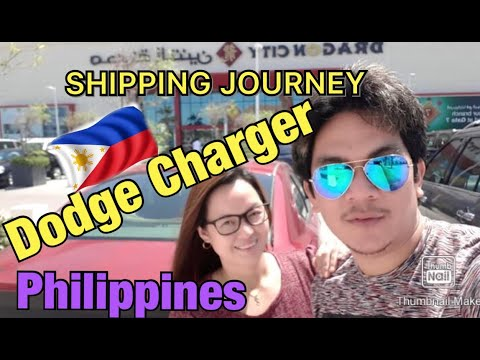 Shipping journey of my DODGE CHARGER from Saudi Arabia to Philippines 2020