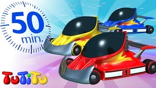 TuTiTu Specials   Race Cars   And Other Toys on Wheels   50 Minutes Special