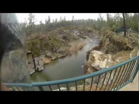 Yamaha WR250R GoPro Hero3 1080p Dual Sporting around Whiskeytown Lake January 2013