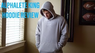 TRYING ON THE ALPHALETE KING HOODIE