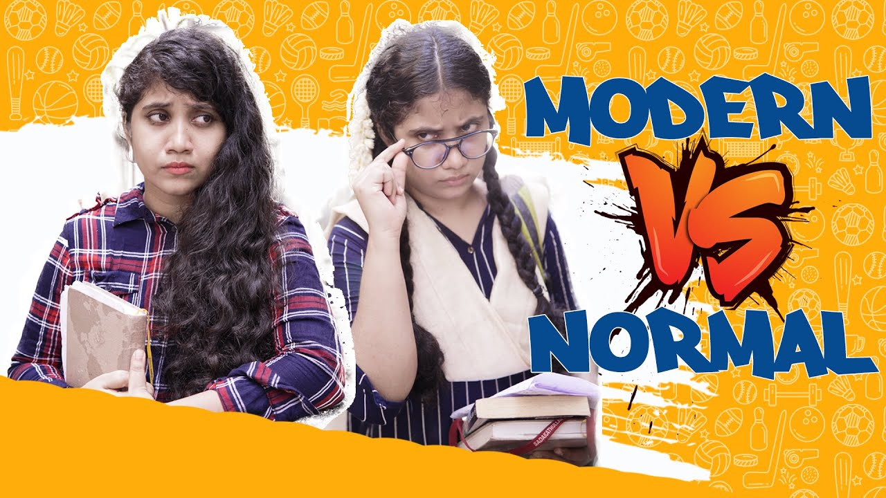 Modern Vs Normal | College Life | Nove | #Novesoniya