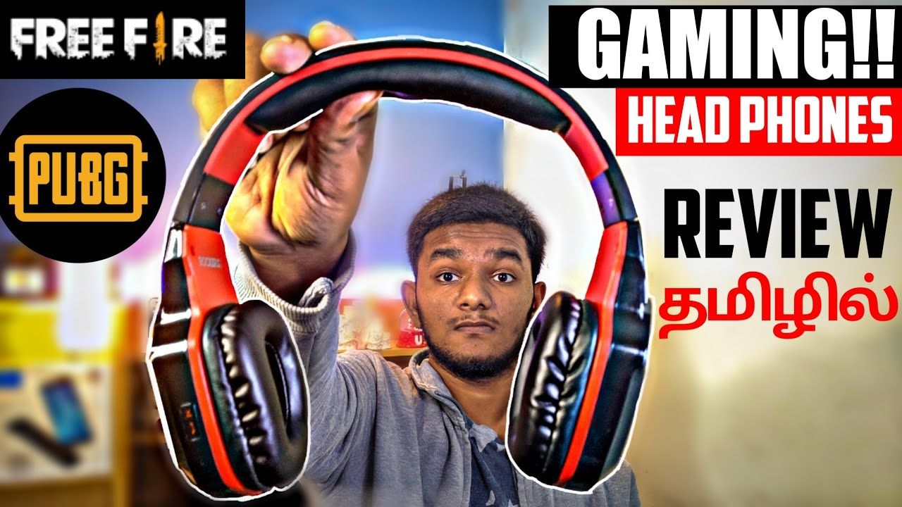 Best HeadSet for GAMING!! PUBG & FREE FIRE | TAMIL..UNDER 2000 | Bluetooth plus wired.