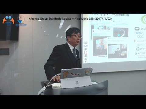ARRC Colloquium :Khronos Group Standards Update - Hwanyong Lee (2017/11/02)