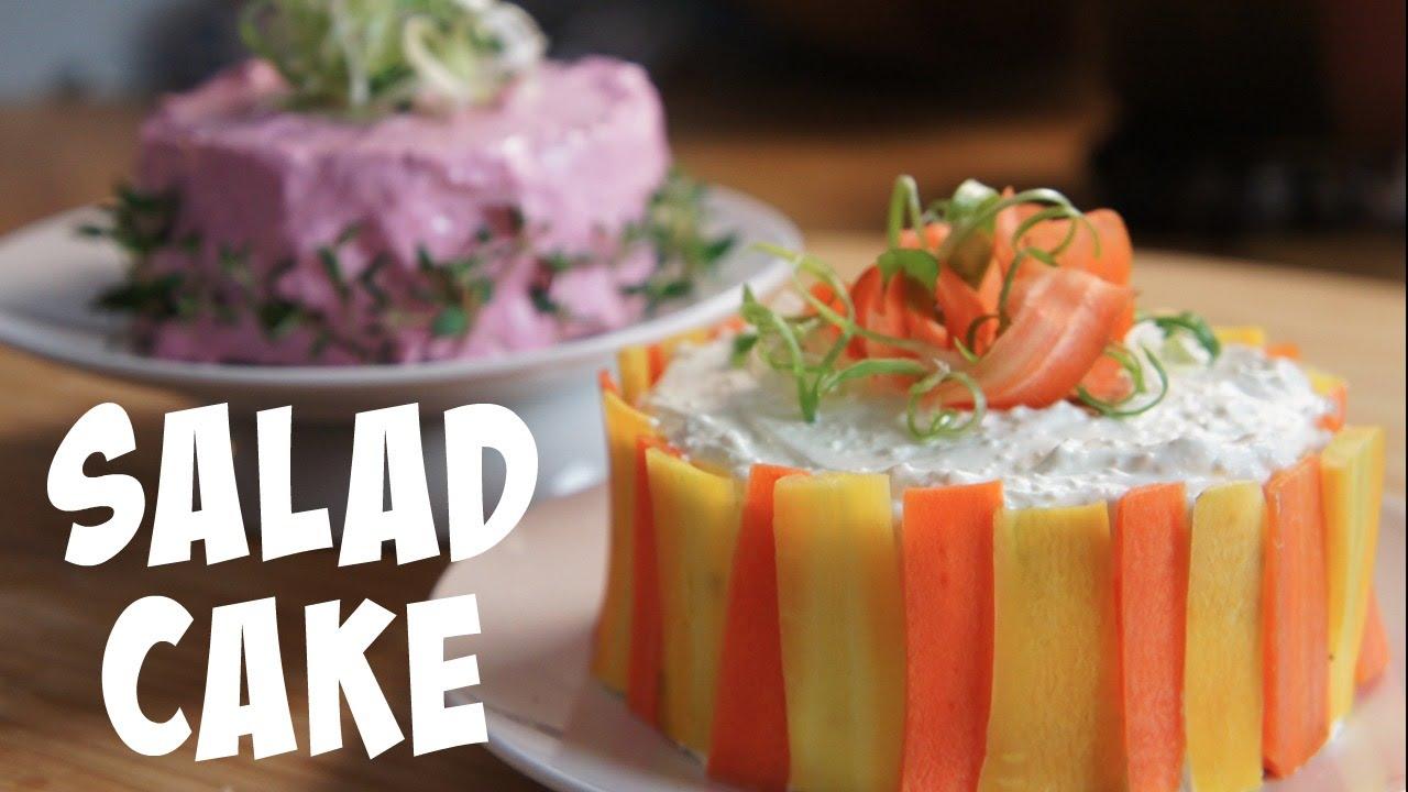 Vegideco Salad Cake Recipe You Made What Youtube