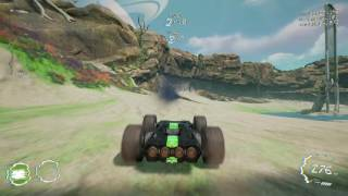 GRIP (Rollcage Racing Game) Wild Gameplay @ Track Islands #002
