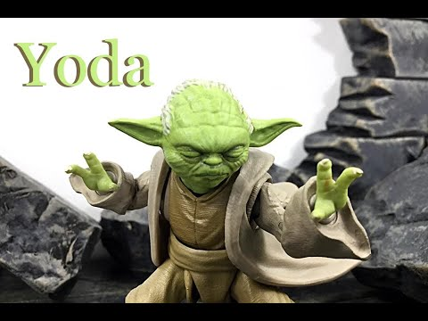 Bandai Tamashii Nations Sh Figuarts Star Wars Revenge Of The Sith Yoda Action Figure Toy Review Youtube