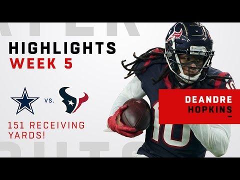 DeAndre Hopkins' CLUTCH 151 Receiving Yards vs. Cowboys