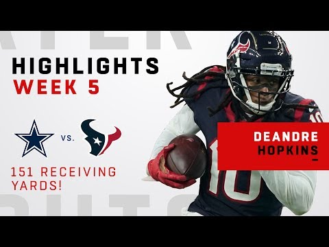 DeAndre Hopkins' CLUTCH 151 Receiving Yards vs. Cowboys