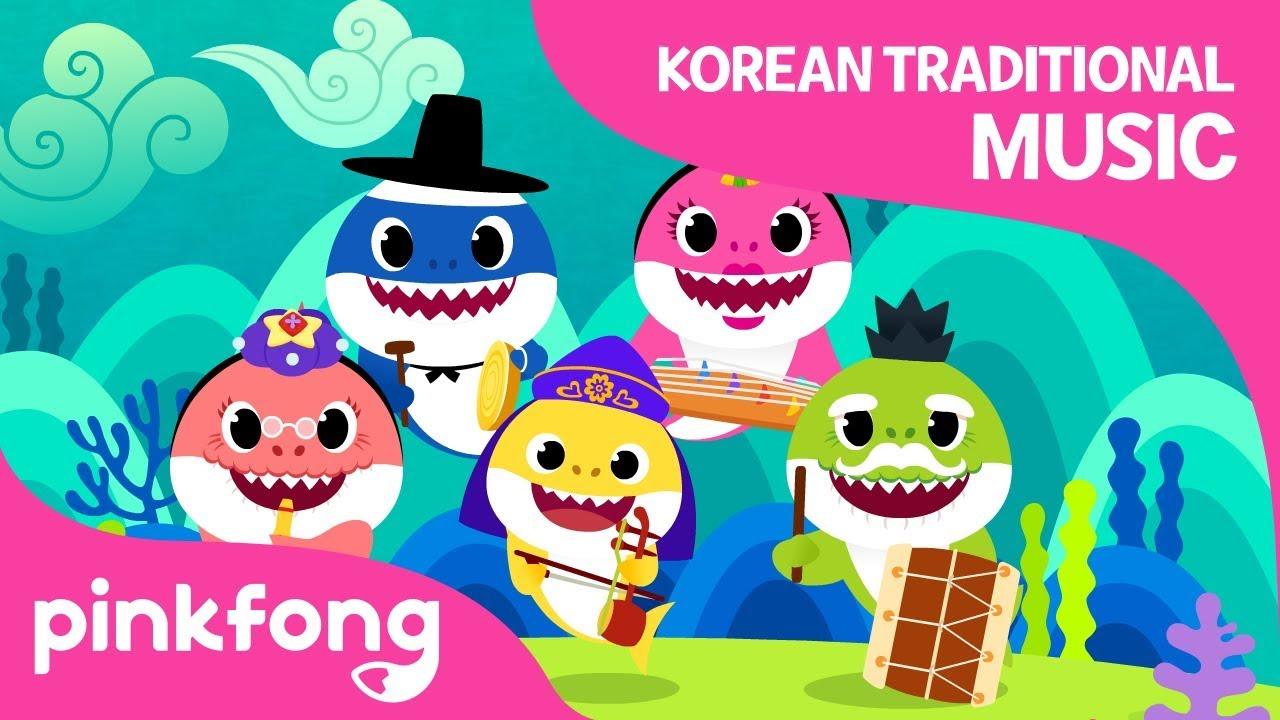 Video Shark Familys Concert Baby Shark Korean