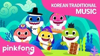 Shark Family's Concert | Baby Shark | Korean Traditional Music | Pinkfong Songs for Children