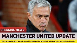 José Mourinho & Manchester United make MASSIVE transfer u-turn | The Football Terrace