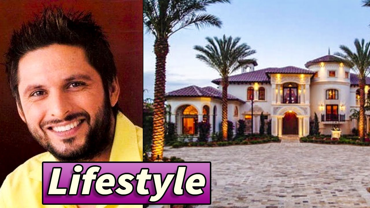 Shahid Afridi Luxurious Lifestyle And Biography