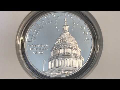 US Capitol Silver Dollar