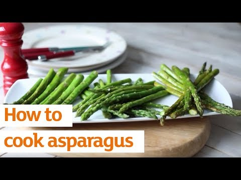 How to cook asparagus | Recipe | Sainsbury's