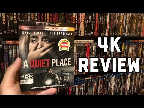 A Quiet Place 4K UltraHD Blu-ray Review | Dolby Vision HDR | Dolby Atmos Audio