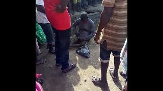 Nigerian man's penis disappears after giving crippled beggar N1,000 in Lagos