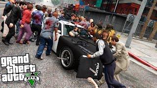 GTA 5 Моды: Машина для Зомби Апокалипсиса! - Убийца зомби!