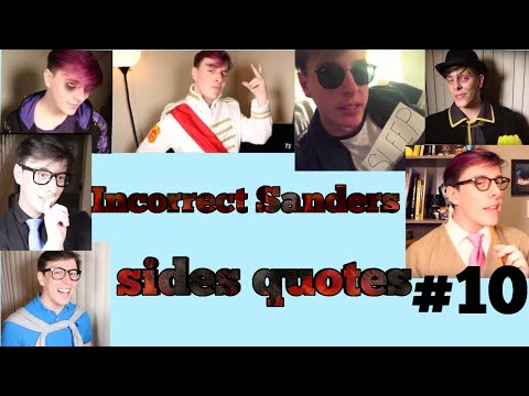 Incorrect Sanders Sides Quotes #10