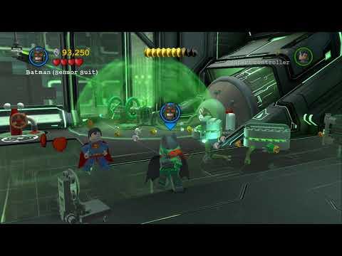 LEGO Batman 2 DC Super Heroes 100% Guide - Research & Development (All Minikits, Citizen in Peril)