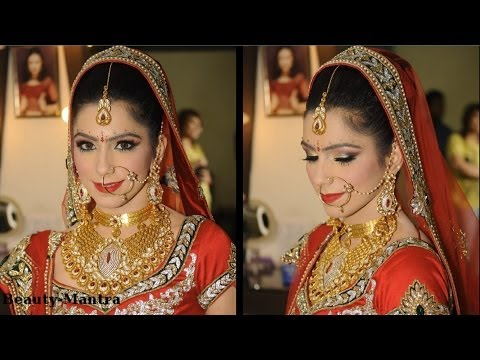 Bridal Makeup Ideas - Traditional Indian Bride