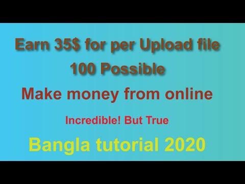 Upload File & Earn 35$ | 100% Possible |  Birdload Working Bangla Voice Tutorial 2020