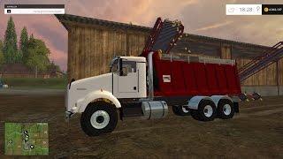 Farming Simulator 2015 Kenworth Dump Truck Mod