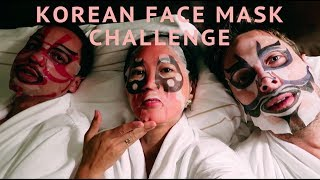 KOREAN FACE MASK CHALLENGE: A Sheet Mask Every Day for a Week | Aimee Song