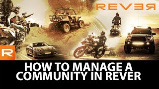 Gambar cover How To Manage A Community in REVER