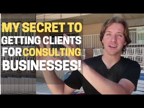 How To Get Clients For Your Consulting Business?