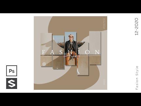 How To Make Fashion Poster Design - Photoshop Tutorial - Speed Design   Sopheap Design