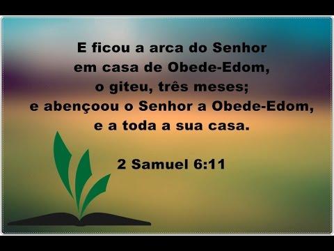 I Crônicas 26:1-32 - DAVI E OS PORTEIROS DO TEMPLO - OBEDE-EDOM COMO EXEMPLO