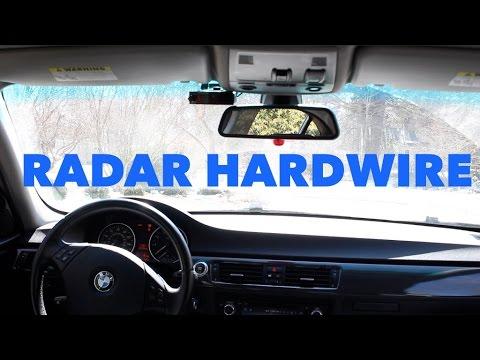 BMW Radar Detector Hardwire // EASY DIY Method!