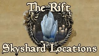 ESO: The Rift All Skyshard Locations (updated for Tamriel Unlimited)